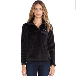 ✨Patagonia Re-Tool Snap-T Pullover in Black✨